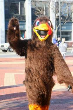 Framingham Turkey Trot mascot